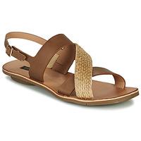 Schoenen Dames Sandalen / Open schoenen Neosens DAPHNI Brown / Beige