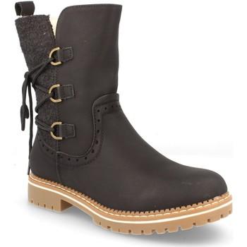 Schoenen Dames Hoge laarzen Benini 909-PA Negro
