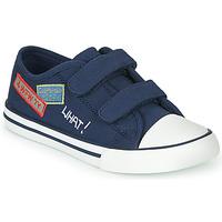 Schoenen Jongens Lage sneakers Chicco COCOS Marine / Wit