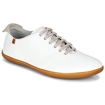 Schoenen Dames Lage sneakers El Naturalista EL VIAJERO Wit