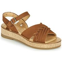 Schoenen Dames Sandalen / Open schoenen El Naturalista TÜLBEND Brown