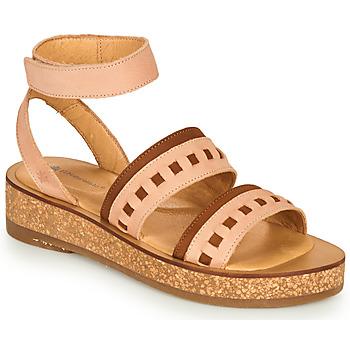 Schoenen Dames Sandalen / Open schoenen El Naturalista TÜLBEND Roze / Brown