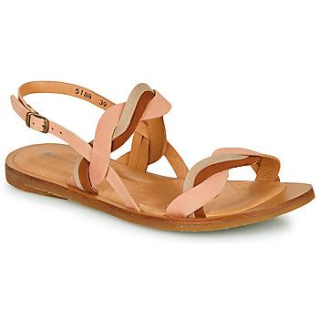 Schoenen Dames Sandalen / Open schoenen El Naturalista TULIP Roze / Brown / Beige