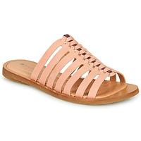 Schoenen Dames Leren slippers El Naturalista TULIP Roze