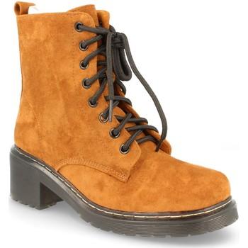 Schoenen Dames Hoge laarzen Buonarotti 2AD-9432 CAMEL