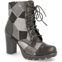 Schoenen Dames Hoge laarzen H&d LL88-255 Negro