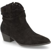 Schoenen Dames Enkellaarzen H&d YZ19-12 Negro