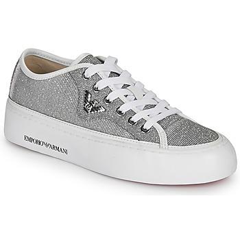 Schoenen Dames Lage sneakers Emporio Armani X3X109-XL487 Zilver