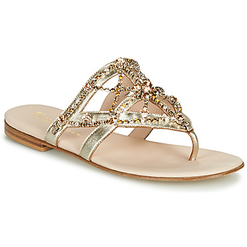 Schoenen Dames Slippers Fru.it  Goud