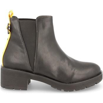 Schoenen Dames Enkellaarzen H&d LL88-259 Negro