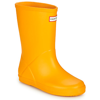 Schoenen Kinderen Regenlaarzen Hunter KIDS FIRST CLASSIC Geel