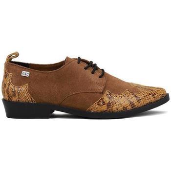 Schoenen Dames Derby Musse & Cloud PICKY Brown