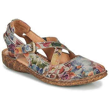 Schoenen Dames Sandalen / Open schoenen Josef Seibel ROSALIE 13 Grijs / Multikleuren