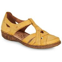 Schoenen Dames Sandalen / Open schoenen Josef Seibel ROSALIE 29 Geel