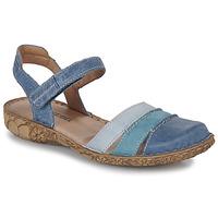 Schoenen Dames Sandalen / Open schoenen Josef Seibel roSALIE 44 Blauw