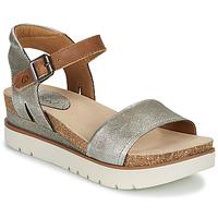 Schoenen Dames Sandalen / Open schoenen Josef Seibel CLEA 01 Zilver
