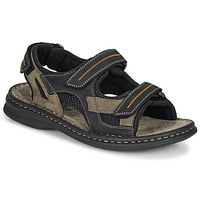 Schoenen Heren Outdoorsandalen Josef Seibel MAX 64 Brown / Zwart