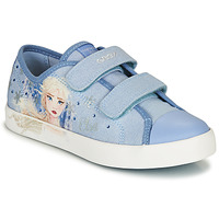 Schoenen Meisjes Lage sneakers Geox JR CIAK GIRL Blauw