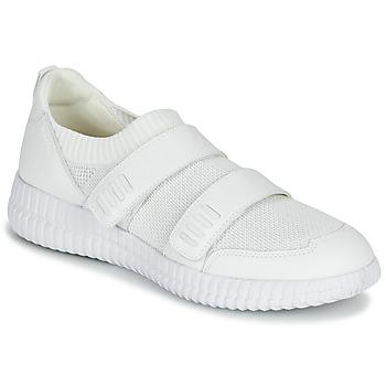 Schoenen Dames Lage sneakers Geox D NOVAE Wit