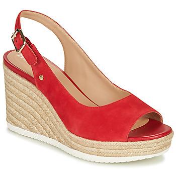 Schoenen Dames Lage sneakers Geox D PONZA Rood