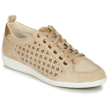 Schoenen Dames Lage sneakers Geox D MYRIA Beige
