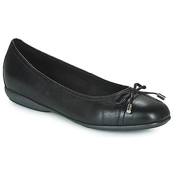Schoenen Dames Ballerina's Geox D ANNYTAH Zwart