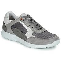 Schoenen Heren Lage sneakers Geox U ERAST Grijs / Wit / Orange