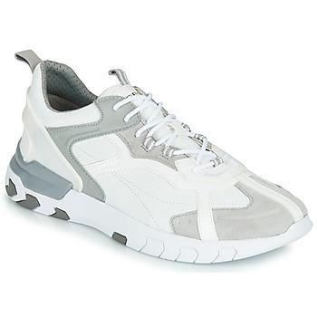 Schoenen Heren Lage sneakers Geox U GRECALE Wit / Grijs