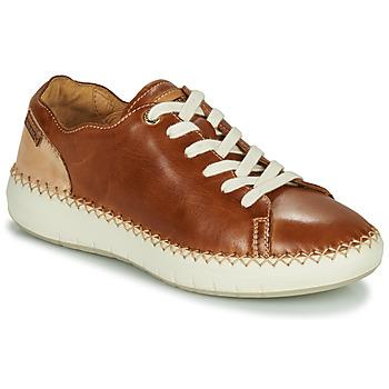 Schoenen Dames Lage sneakers Pikolinos MESINA W6B Brown / Beige