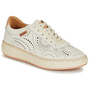 Schoenen Dames Lage sneakers Pikolinos MESINA W6B Wit / Roze