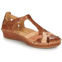 Schoenen Dames Sandalen / Open schoenen Pikolinos P. VALLARTA 655 Cognac /  camel