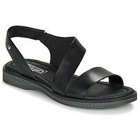 Schoenen Dames Sandalen / Open schoenen Pikolinos MORAIRA W4E Zwart