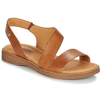 Schoenen Dames Sandalen / Open schoenen Pikolinos MORAIRA W4E  camel