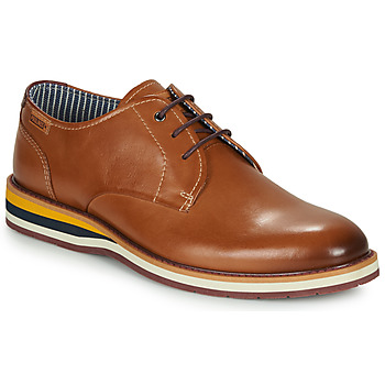 Schoenen Heren Derby Pikolinos ARONA M5R Brown / Bordeaux