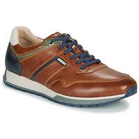 Schoenen Heren Lage sneakers Pikolinos CAMBIL M5N Brown / Marine