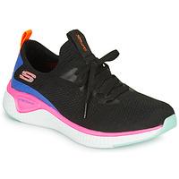 Schoenen Dames Fitness Skechers SOLAR FUSE Zwart / Roze / Blauw