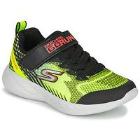 Schoenen Jongens Allround Skechers GO RUN 600 BAXTUX Zwart / Geel