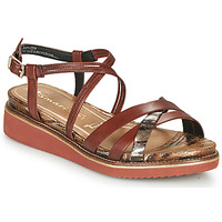 Schoenen Dames Sandalen / Open schoenen Tamaris EDA Brown