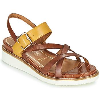 Schoenen Dames Sandalen / Open schoenen Tamaris EDA Brown / Geel