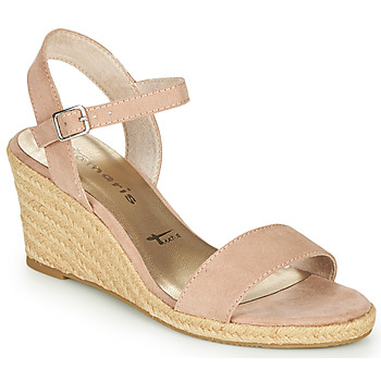 Schoenen Dames Sandalen / Open schoenen Tamaris LIVIA Roze