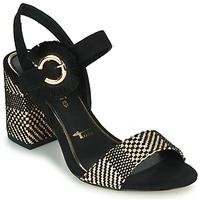 Schoenen Dames Sandalen / Open schoenen Tamaris CALLIE Zwart