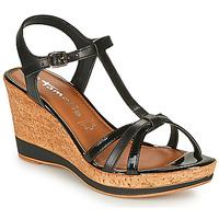 Schoenen Dames Sandalen / Open schoenen Tamaris VESILA Zwart