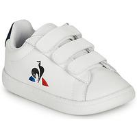 Schoenen Kinderen Lage sneakers Le Coq Sportif COURTSET INF Wit