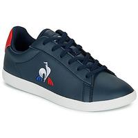 Schoenen Kinderen Lage sneakers Le Coq Sportif COURTSET GS Marine / Rood