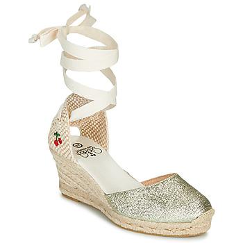 Schoenen Dames Sandalen / Open schoenen Le Temps des Cerises POLY Goud