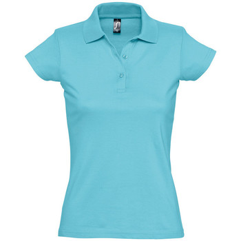 Textiel Dames Polo's korte mouwen Sols PRESCOTT POLO MUJER Azul