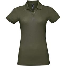Textiel Dames Polo's korte mouwen Sols PRIME ELEGANT WOMEN Verde