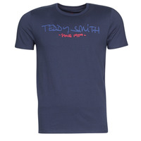 Textiel Heren T-shirts korte mouwen Teddy Smith TICLASS Marine