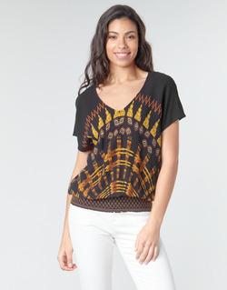 Textiel Dames Tops / Blousjes Desigual NAPOLES Multicolour