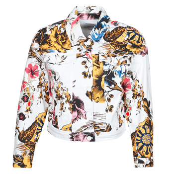 Textiel Dames Spijker jassen Desigual FANTASY Multicolour